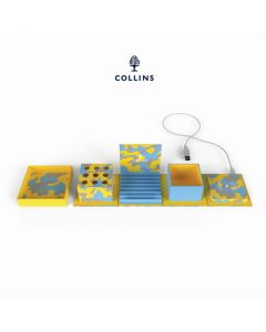 Collins 10 Cube Camo Yellow