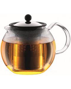 Bodum 1L Assam Tea Press with S/S Filter Chrome