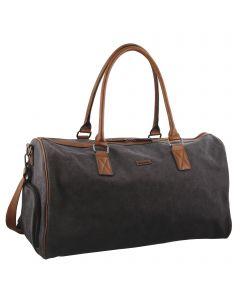 Pierre Cardin Unisex Canvas Overnight Bag