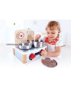 Hape 2-1 Kitchen & Grill Set