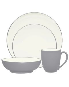 Noritake Colorwave Slate 16pc Dinner Setting for 4