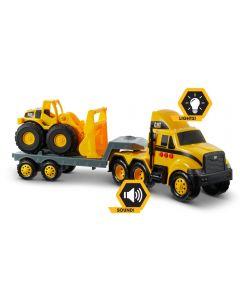 CAT Heavy Movers Flatbed with Loader
