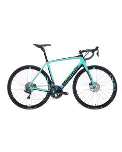 Bianchi Infinito Cv Ultegra Disc Bike - Celeste/Black