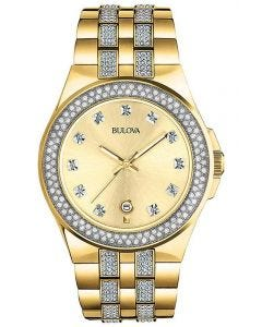 Bulova Gents Crystal Watch