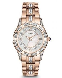 Bulova Crystals Ladies Watch