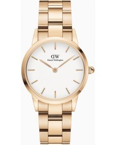 Daniel Wellington Iconic Link 28 RG White