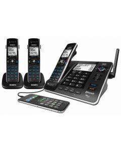 Uniden Digital Technology Phone Triple Pack XDECT8355+2