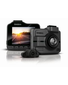 """Uniden Ultra 4K Smart Dash Cam with FULL HD Rear View Camera on 2.4"""" LCD Colour Screen"""