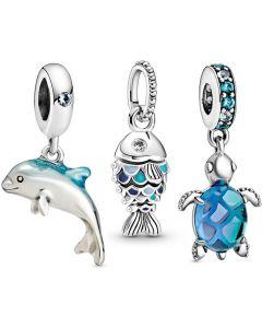 Pandora Sea Creatures Charm Pack - RAU0879