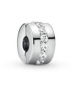 Pandora Shining Path Silver Clip w CZ Silver - 791972CZ