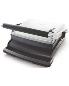 Breville - The Adjusta Electric Grill & Sandwich Press - Stainless Steel