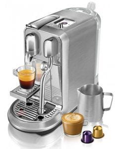 Breville - Nespresso Creatista Plus Coffee Machine - Stainless Steel