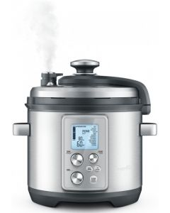 Breville The Fast Slow Pro 6 Litre Slow Cooker - Brushed Stainless Steel
