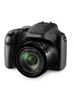 Panasonic Lumix FZ80 60x Zoom Digital Cameral - Black DC-FZ80GN-K
