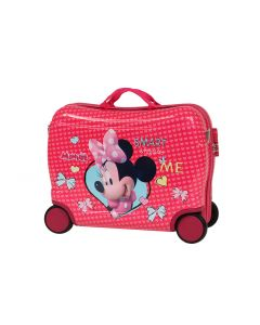 Disney Minnie Mouse PC Kids Ride On Trolley Case