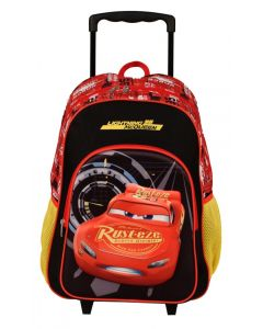 "Disney 17"" Cars - Lightning Mcqueen Trolley Backpack"