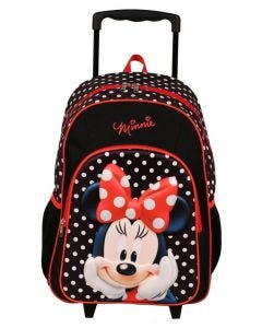 "Disney 17"" Minnie Mouse Trolley Backpack"