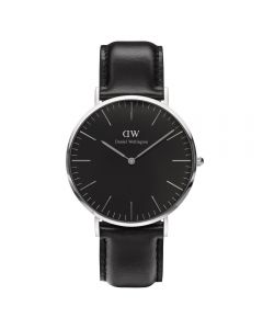 Daniel Wellington Classic 40 Sheffield S Black