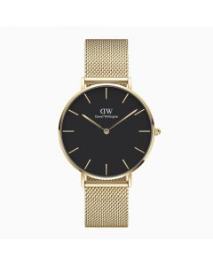 Daniel Wellington Petite 36 Evergold G Black