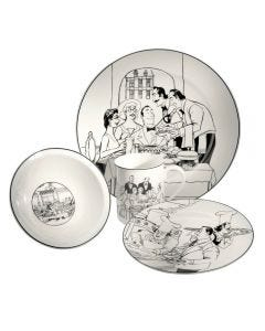 Noritake Le Restaurant 16pc Dinner Setting for 4