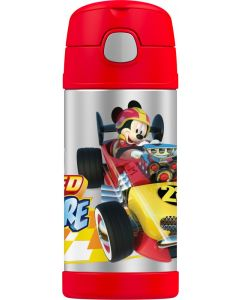 Thermos 355ml FUNtainer Stainless Steel Vacuum Insulated Drink Bottle - Disney Mickey Mouse