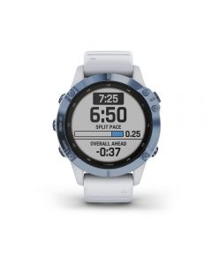 Garmin fenix 6S Pro Solar Mineral Blue with Whitestone Band
