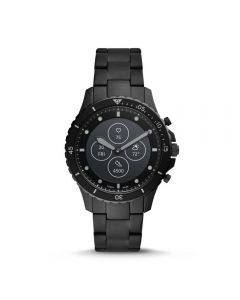 Fossil FB-01 HR Black Smartwatch