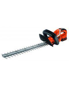 Black+DECKER - 450mm 18V Lithium-ion Hedge Trimmer - Orange