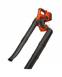Black+DECKER - 36V Electric Leaf Blower Vacuum - Orange