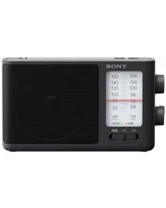 Sony FM/AM Analog Tuning Portable Radio - Black