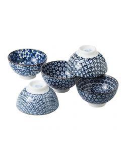 Noritake Nami 12cm Rice Bowl Set of 5