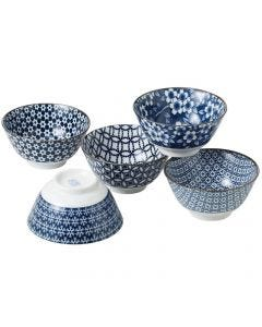 Noritake Nami 13cm Bowl set of 5