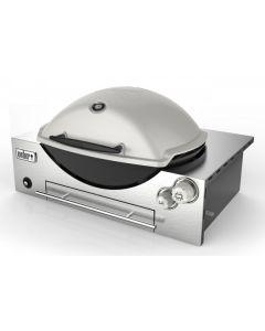 Weber Family Q Built In Premium (Q3600) LPG Built In BBQ Titanium