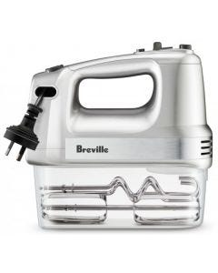 Breville - The Handy Mix & Store Hand Mixer - Stainless Steel