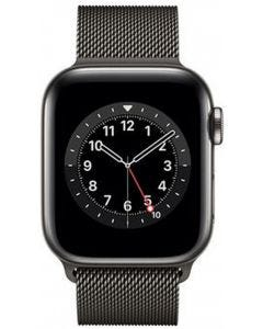 Apple Watch S-6 GPS + Cell 40mm SS Case/ Milanese Loop