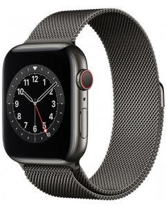 Apple Watch S-6 GPS + Cell 44mm SS Case/ Milanese Loop