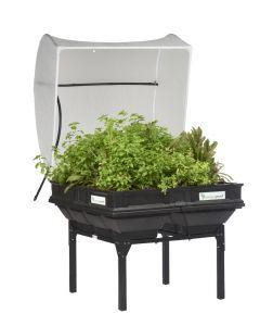 Vegepod Medium Raised Garden Bed With VegeCover & Stand Bundle