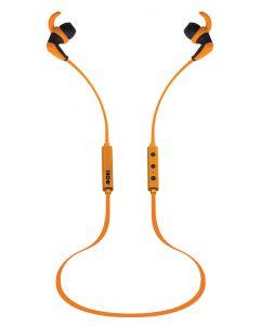 Moki Hybrid Bluetooth Earphones Yellow