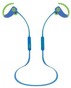 Moki Octane Bluetooth Earphones Blue