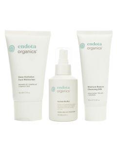 Endota Spa Nurture Organic Hydrating Skincare Pack