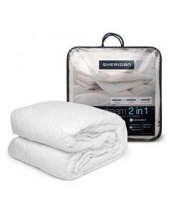 Sheridan - Deluxe Dream 2-in-1 Quilt (Queen Bed) - White