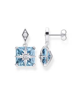 Thomas Sabo Magic Stones Aquamarine Star Earrings
