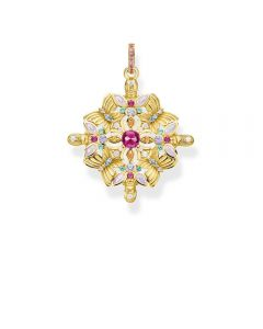 Thomas Sabo Magic Garden Kaleidoscope Yellow Gold Plated Pendant