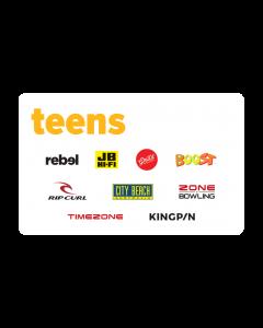 Ultimate Teens $100 Gift Card