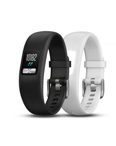 Garmin Vivofit 4 Black & White Club Bundle - S/M
