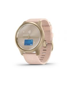 Garmin Vivomove Style Hybrid Activity Tracker - Blush Pink & Light Gold