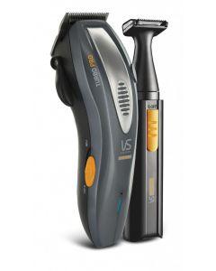VS for Men - Metro Turbo Pro 31 Piece Grooming Kit - Grey